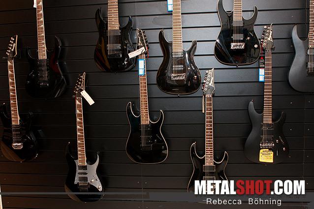 Guitars at Beyers Music